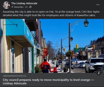 February 12: City council prepares ready to move municipality to level orange