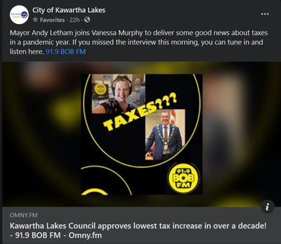 February 18: Kawartha Lakes council approves lowest tax increase in over a decade