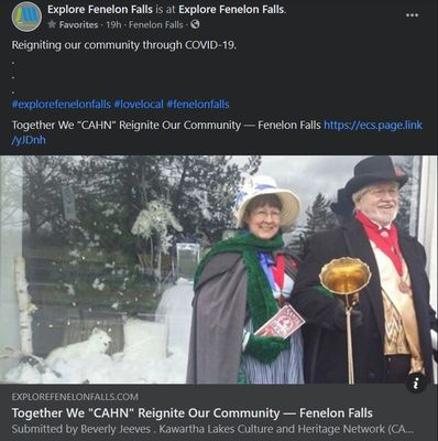 February 25: Together we CAHN reignite our community