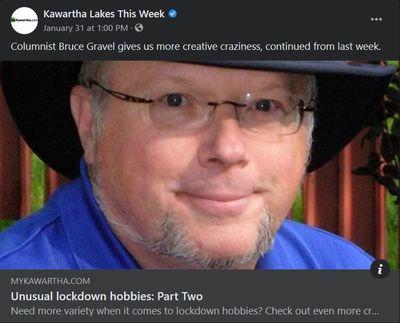 January 29: Unusual lockdown hobbies - part 2