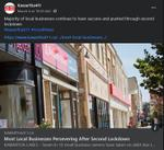 March 4, 2021: Most local businesses persevering after second lockdown