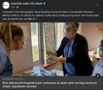 March 16, 2021: Ross Memorial Hospital continues to work with nursing home to create 'pandemic normal'