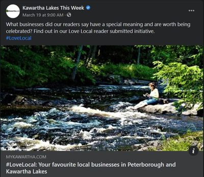 March 18, 2021: #LoveLocal - Your favourite businesses in Peterborough and Kawartha Lakes