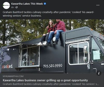 March 28, 2021: Kawartha Lakes business owner grilling up a great opportunity