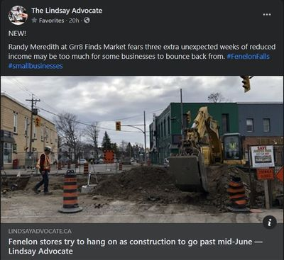 March 28, 2021: Fenelon stores try to hang on as construction to go past mid-June