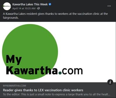 April 14, 2021: Reader gives thanks to LEX vaccination clinic workers