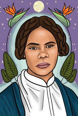 portrait, Mary Ann Shadd Cary, 2021