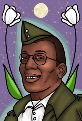 portrait, Alvin Ladd, 2021