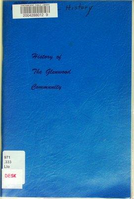History of the Glenwood Community