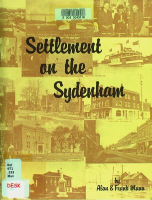 Settlement on the Sydenham : the story of Wallaceburg
