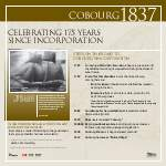 Cobourg's Incorporation