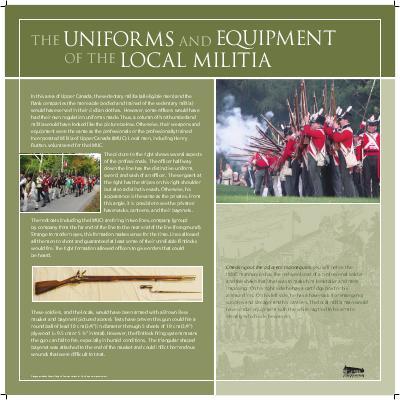 Uniforms of Local Militia