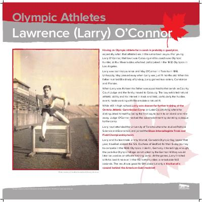 O'Connor, Lawrence