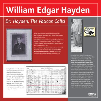 Hayden, William Edgar