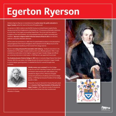 Ryerson, Egerton
