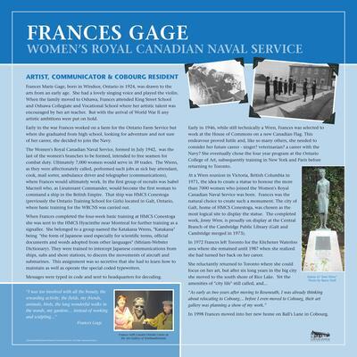 Frances Gage
