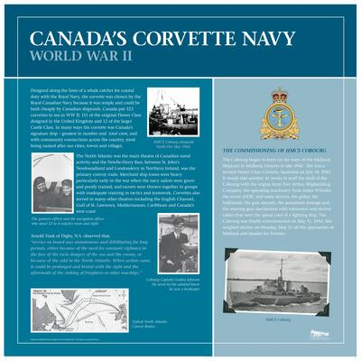 Canada's Corvette Navy - World War 2  HMCS Cobourg