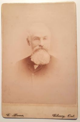 Remembrance card of James Crossen, 1826-1890