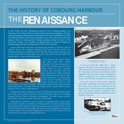 Cobourg Harbour (10,11) Renaissance