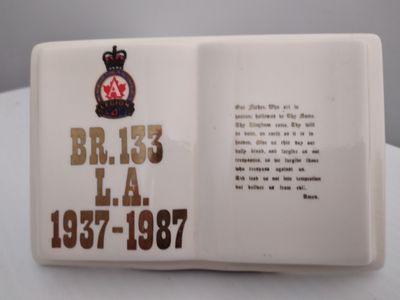 Legion Branch 133 Porcelain Bible