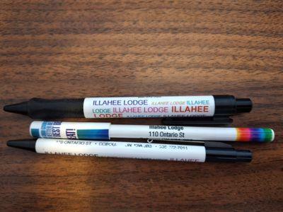 Illahee Lodge Ballpoint Advertising Pens