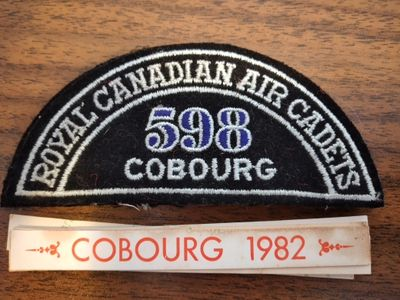 Royal Canadian Air Cadets Patches