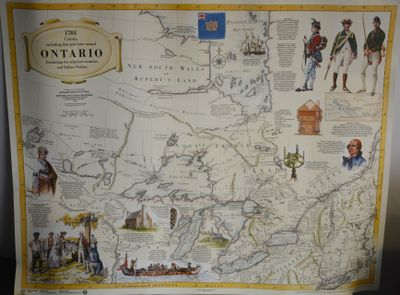 Map of Ontario in 1784