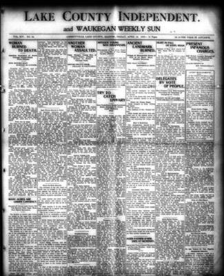 Lake County Independent and Waukegan Weekly Sun