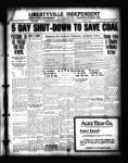 5 day shut down to save coal.