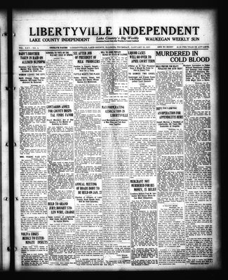 Libertyville Independent (Libertyville, Lake County, Ill.: W.J. Smith), 25 Jan 1917