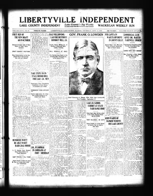 Libertyville Independent (Libertyville, Lake County, Ill.: W.J. Smith), 12 Sep 1918