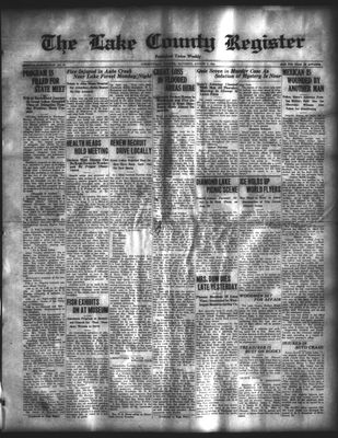 Lake County Register (1922), 9 Aug 1924