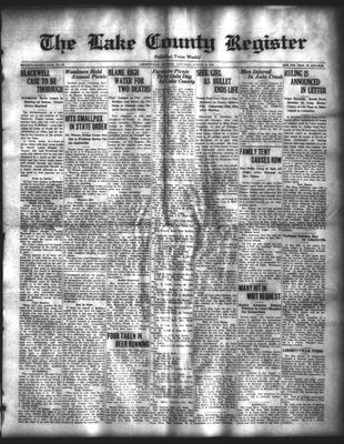 Lake County Register (1922), 16 Aug 1924