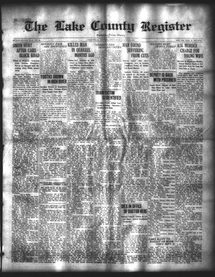 Lake County Register (1922), 20 Aug 1924