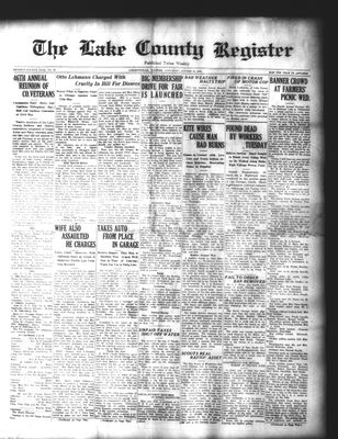 Lake County Register (1922), 23 Aug 1924
