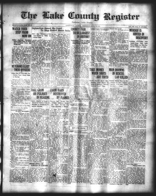 Lake County Register (1922), 27 Aug 1924