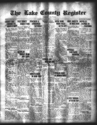 Lake County Register (1922), 1 Oct 1924