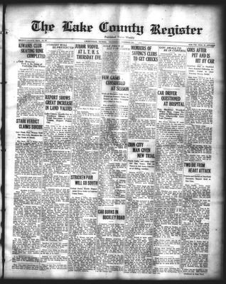 Lake County Register (1922), 3 Dec 1924