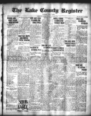 Lake County Register (1922), 6 Dec 1924