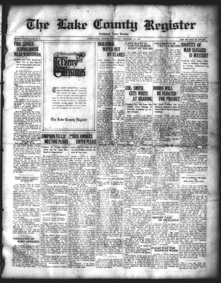 Lake County Register (1922), 24 Dec 1924