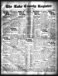 Lake County Register (1922), 1 Jul 1925