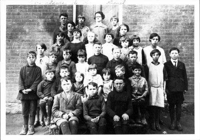 Classe de Valence Desjardins. École chez Bérard Barbeau