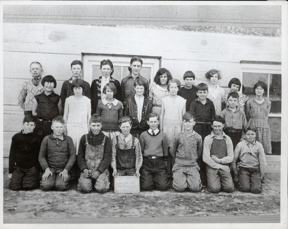 Castleton Public School, Aug. 1931