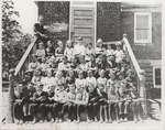 Class photograph, Castleton Public School, Cramahe Township, 1922