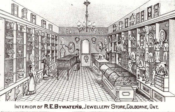 R.E. Bywater Jewellery Store, Illustrated Historical Atlas
