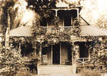 Reproduction photograph of  Mrs. Spatton's Rooming House, Toronto Centre Island