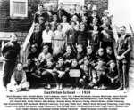 Class photograph, Castleton School, Cramahe Township, 1924