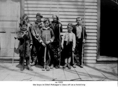 Unidentified class photograph, Cramahe Township, ca.1932