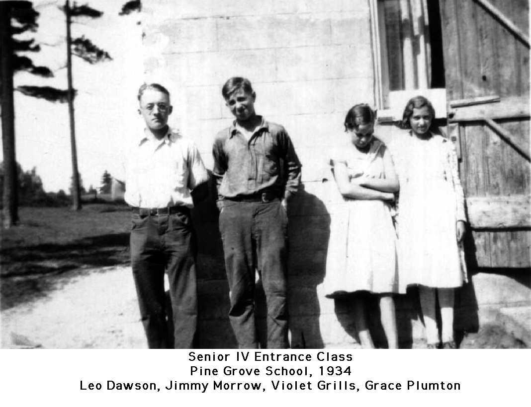 Pine Grove School, 1934