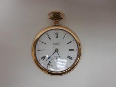 H. J. Mayhew pocket watch